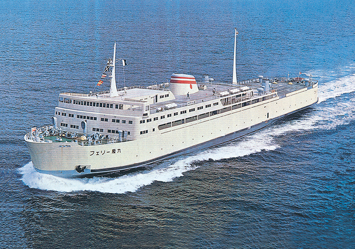 歴代就航船|阪九フェリー